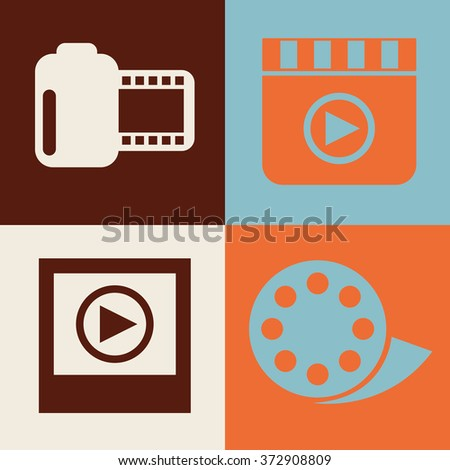 video frame design, vector illustration eps10 graphic