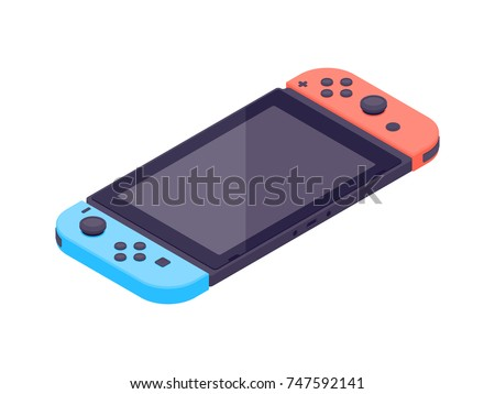 video game console isometric