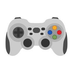 Video game controller vector illustration
