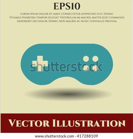 video game icon vector symbol flat eps jpg app web concept