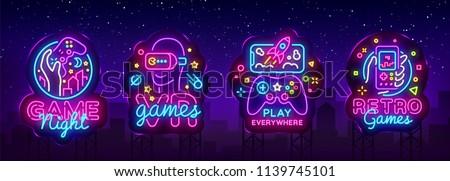 video games logos collection