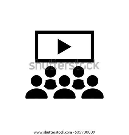Video lecture icon