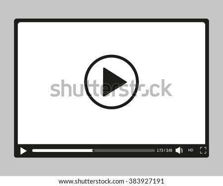 Video player for web