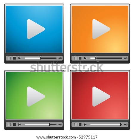 Video player interface