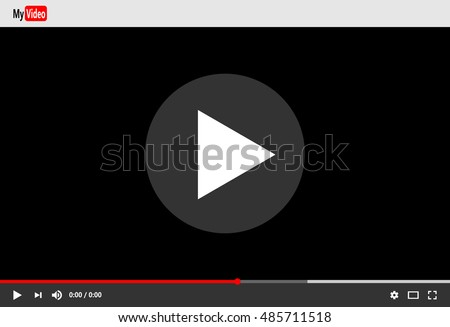 video player template for web