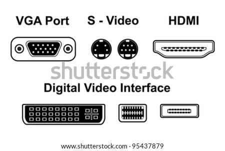 video ports  vector