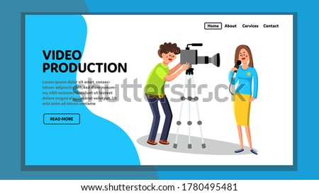 video production operator and