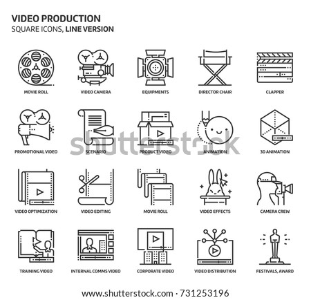 video production  square icon