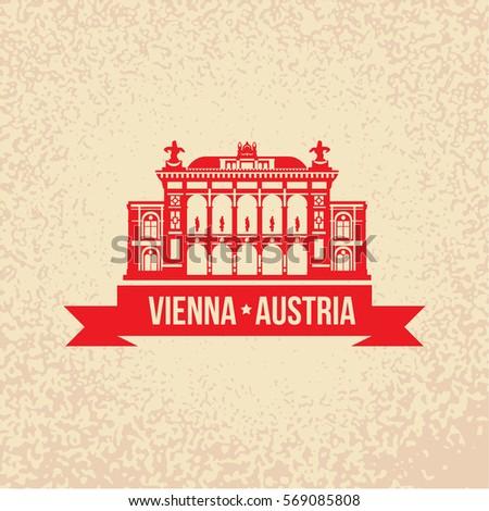 vienna state opera. the symbol...