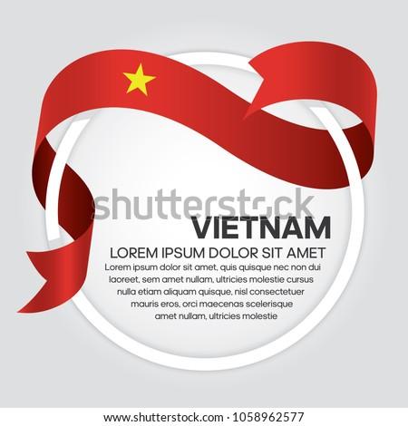 vietnam flag background