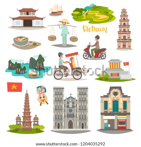Vietnamese Culture Popular Royalty Free Vectors Imageric
