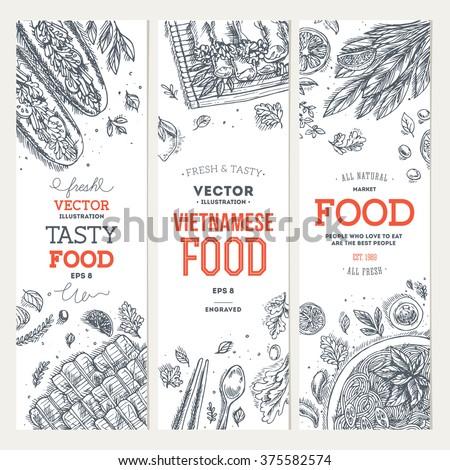 vietnamese food banner
