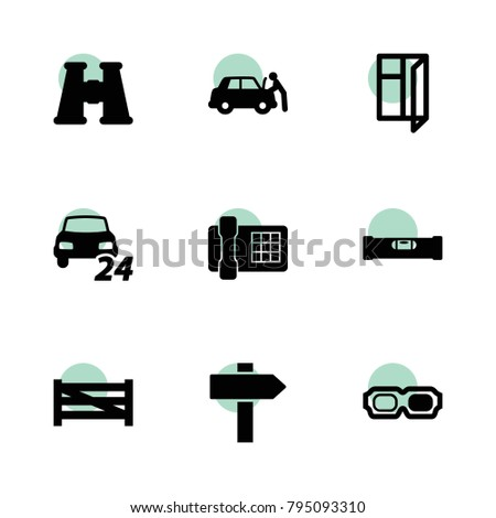 view icons vector collection