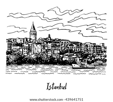 view of karakoy and the galata