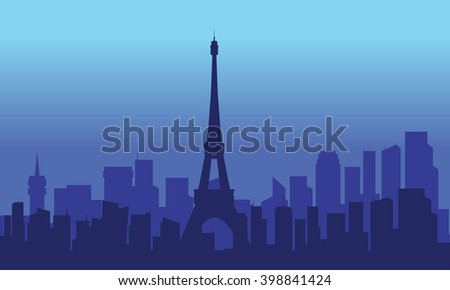 view of the eiffel tower at