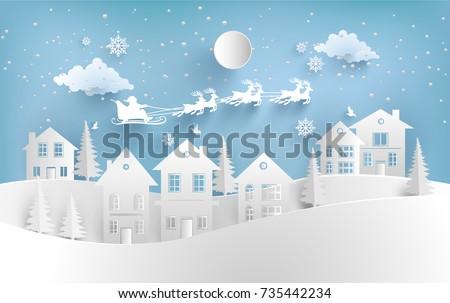 views of housing in winter
