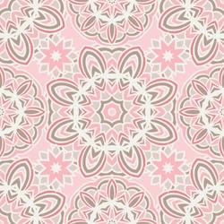 VIintage geometric tiles bohemian ethnic seamless pattern ornamental. Hand drawn graphic print