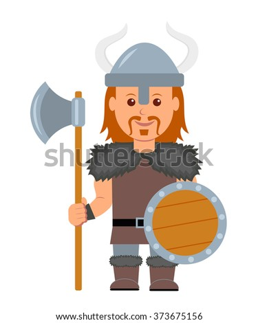 viking a man in a costume with