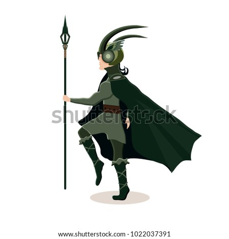 viking cartoon character