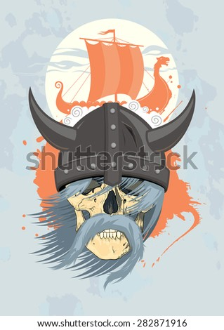 viking design template with