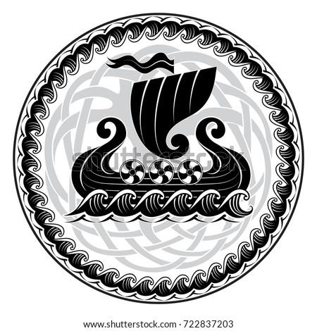 viking drakkar drakkar ship