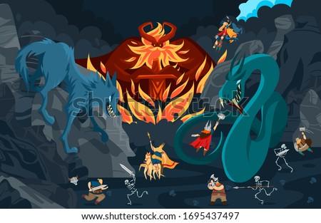 viking gods  norse mythology