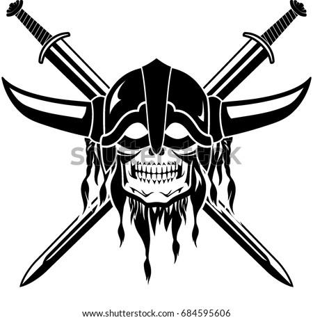 Royalty Free Viking Warrior Emblem 371790424 Stock Photo Avopix Com
