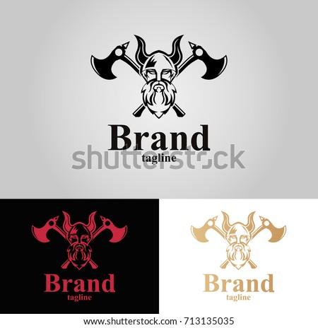 Viking Logo Vector - Download Free Vector Art, Stock Graphics & Images