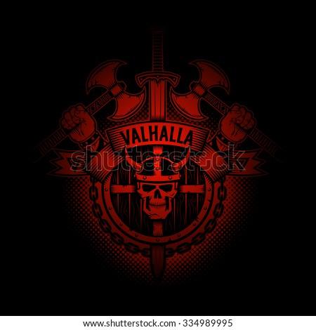 viking valhalla emblem