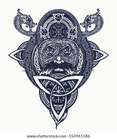 viking warrior tattoo northern