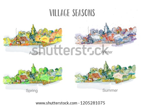 village in four seasons