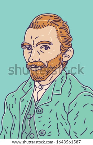 Vincent van Gogh (1853 – 1890) was a Dutch post-impressionist painter who is among the most famous and influential figures in the history of Western art.