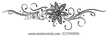 vine with filigree large flower