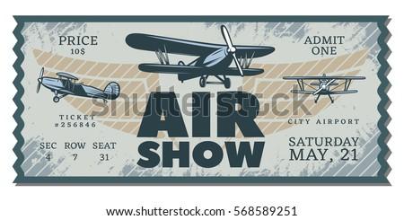 vintage air show pass ticket