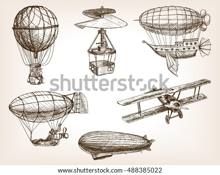 vintage aircrafts transport