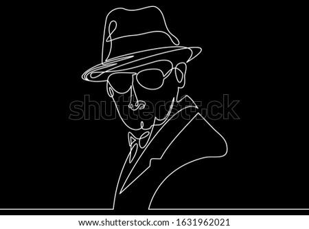 vintage american gangster