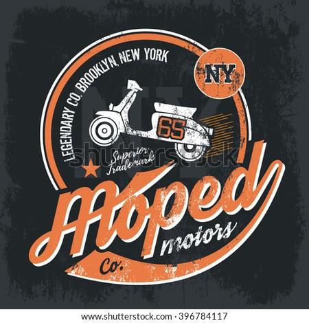 Moped Aus Zusatzzeichen Clip Art at Clker.com - vector clip art ...