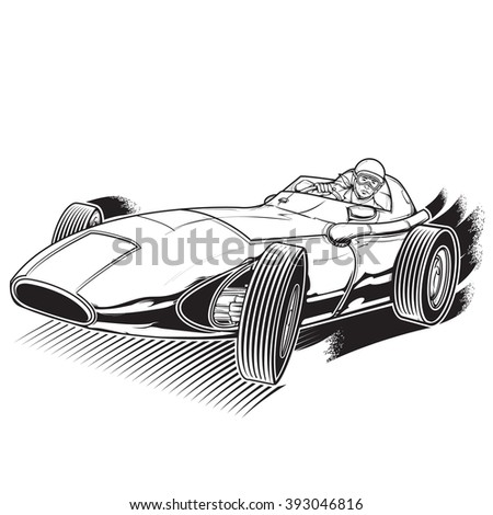 vintage and classic racing car