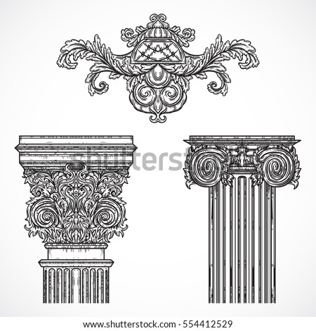 vintage architectural details...