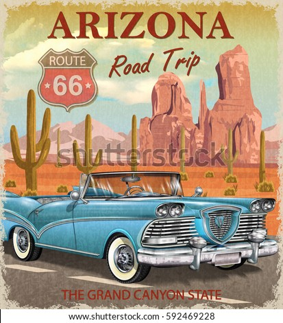 vintage arizona road trip...