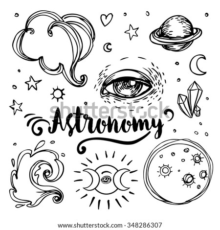 Astronomy Symbol Tattoo