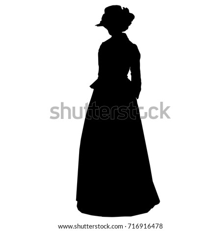 vintage attractive female