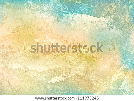 Vintage background with grunge texture cracks, remnants of the paint layer and noise effect. Blank abstract backdrop A4 format. This vector illustration clip-art design element 10 eps