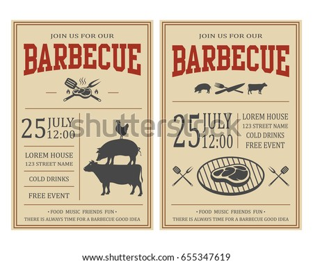 Free Barbecue Vector Download Free Vector Art Stock Graphics Images