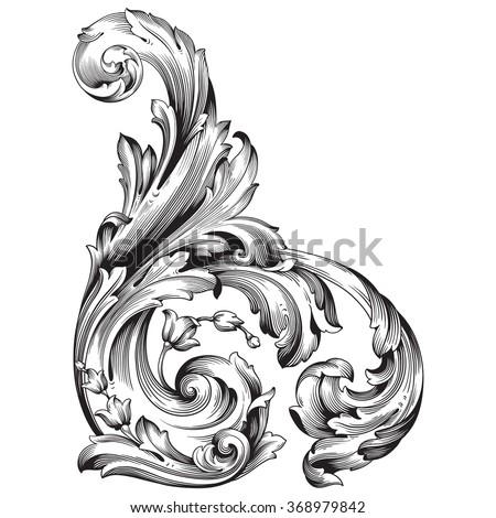 Logo baroque
