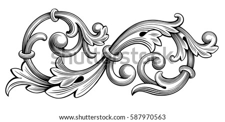 flourish engraving download free vector art stock graphics images