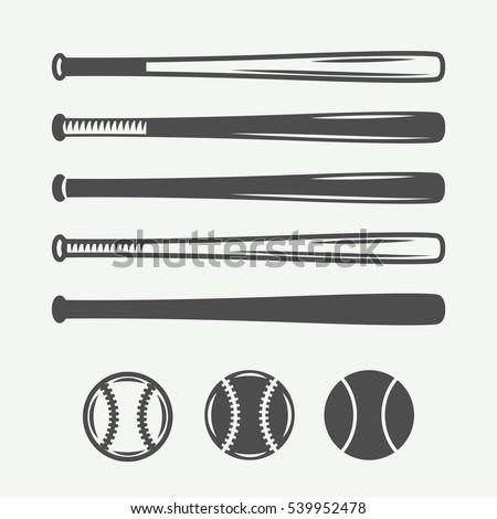 vintage baseball logos  emblems ...