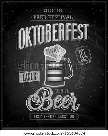 vintage beer brewery poster