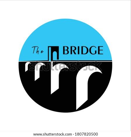 vintage bridge and letter the
