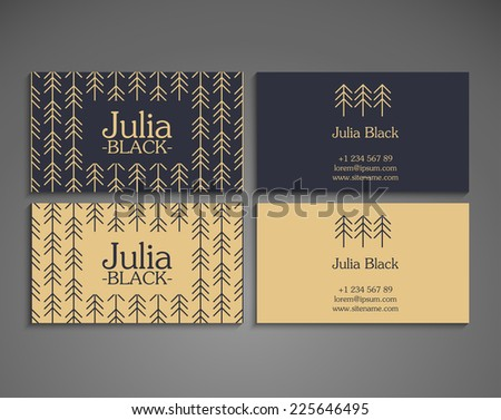 Yoga business card template download free vector art stock vintage business card reheart Images